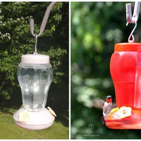 Revamp Hummingbird feeder