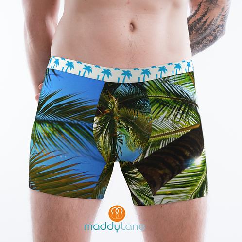 8002 The Palm Trees / Men's Boxer Briefs
