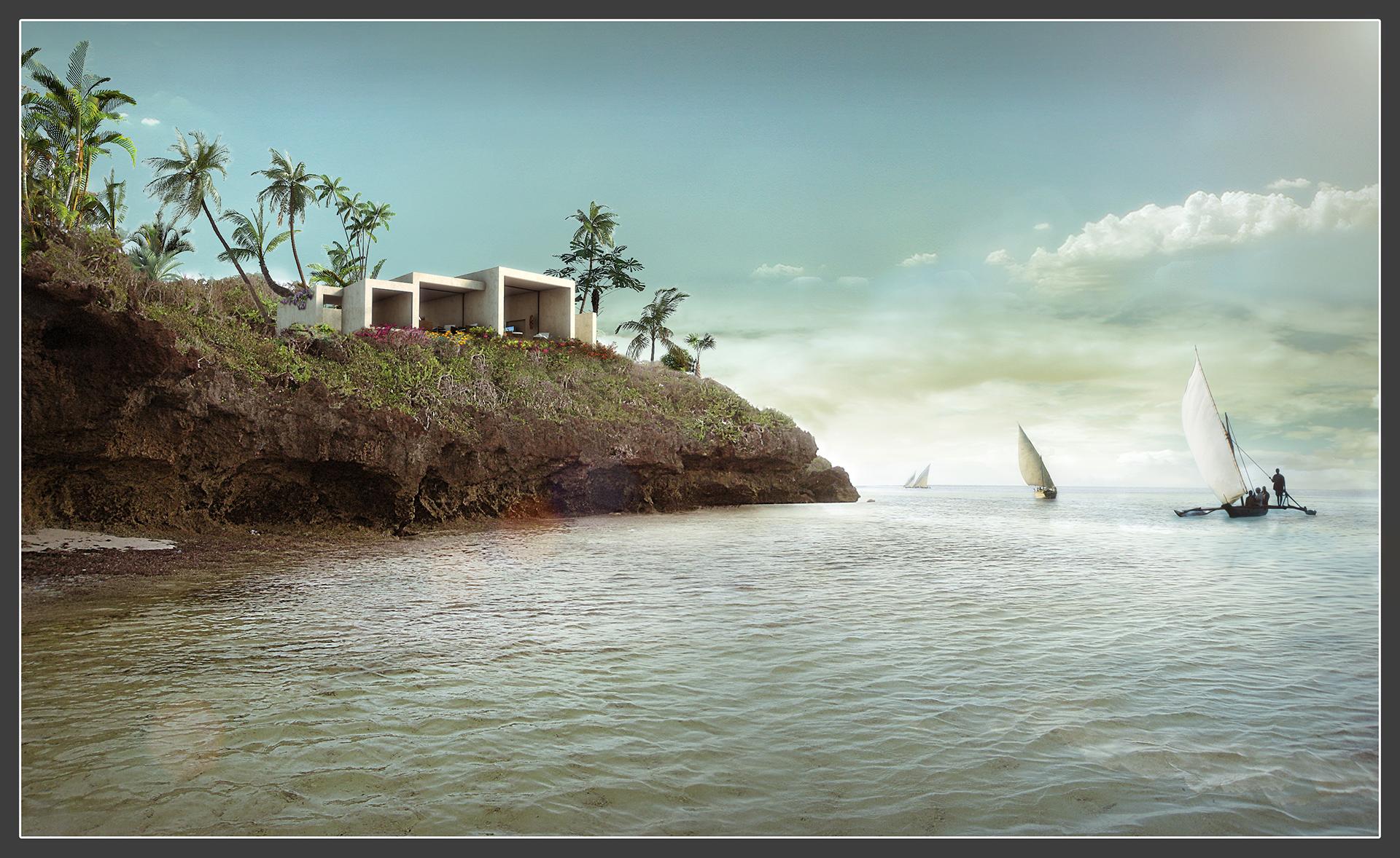 Vipingo_Cliff House. Kenia