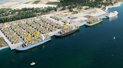 Ampliación muelle. Puerto de Huelva