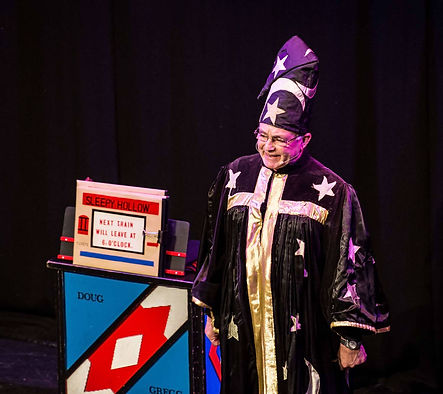 Derby magic circle fundraising show