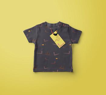 Blackbird design Baby Tshirt