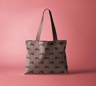 Anteater design tote bag