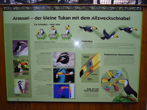 Interactive Zoo signboards