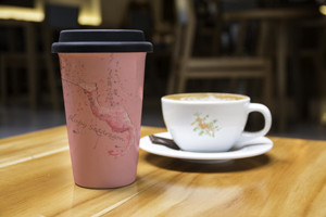 Seadragon coffe mug and cup
