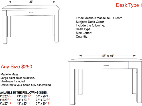 Desk Type 1