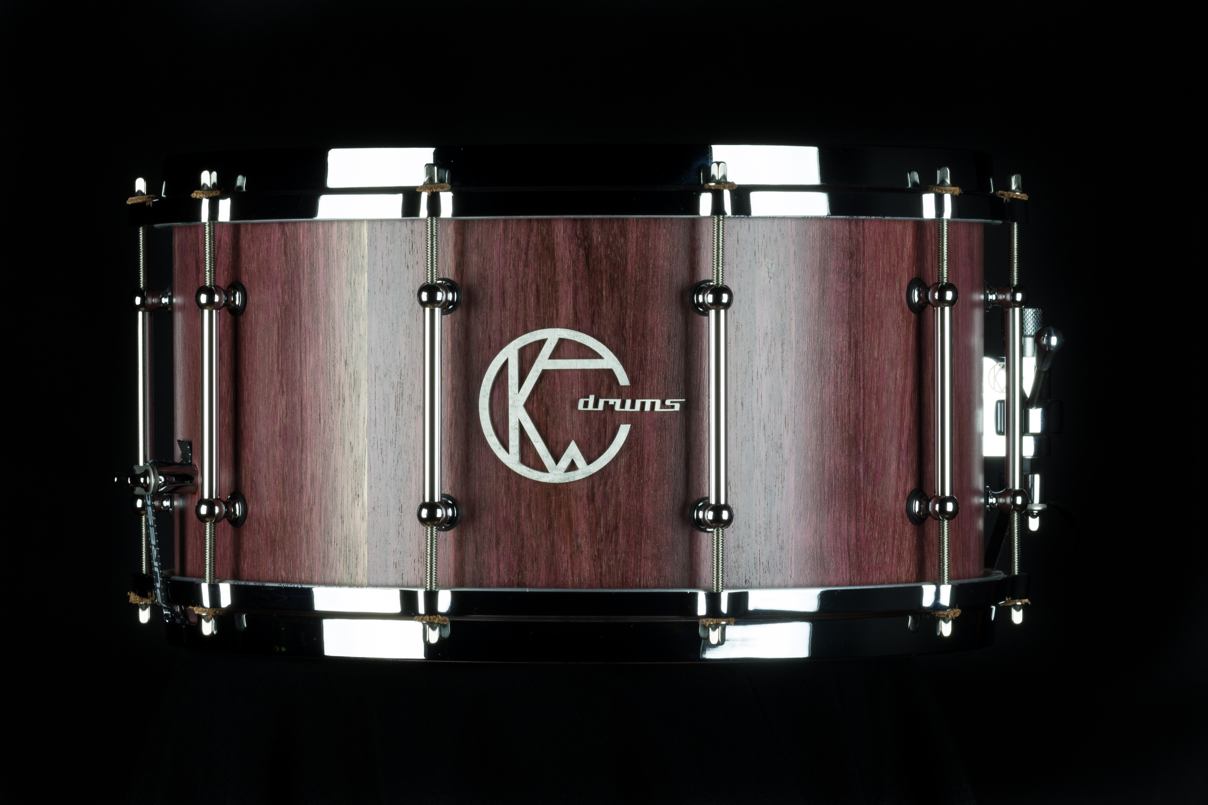 Solid Purple-heart Snare
