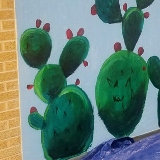 NEW MEXICO BOTANICS 2019 Acrylic Garfield Middle School