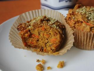 Cinnamon Raisin Carrot Muffins 🥕
