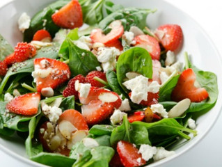 Strawberry, Spinach & Avocado Salad