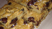 Chocolate Chip Blondies...