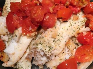 Easy One-Pan Fish & Veggies