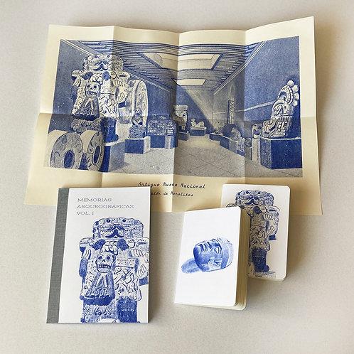 Paquete 3 Memorias Arqueográficas