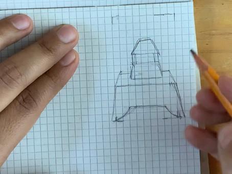 Maquetas precolombinas y diseño de estampados