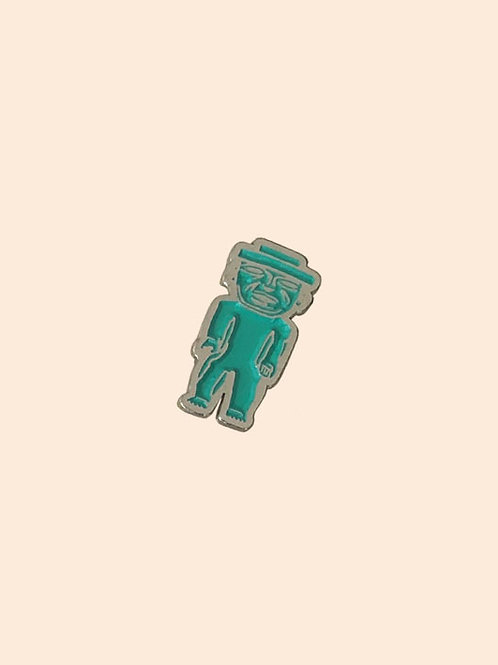 Pin Metálico Figurilla Teotihuacana