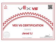 VEX V5 Certificate-Jarod.png
