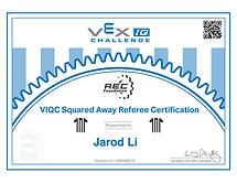 VEX IQ Feferee Certification .png