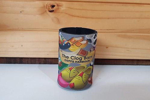 Clog Barn Stubby Cooler - Clog Design