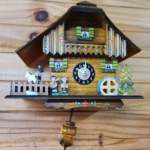 Chalet with Cuckoo and Westminster chime