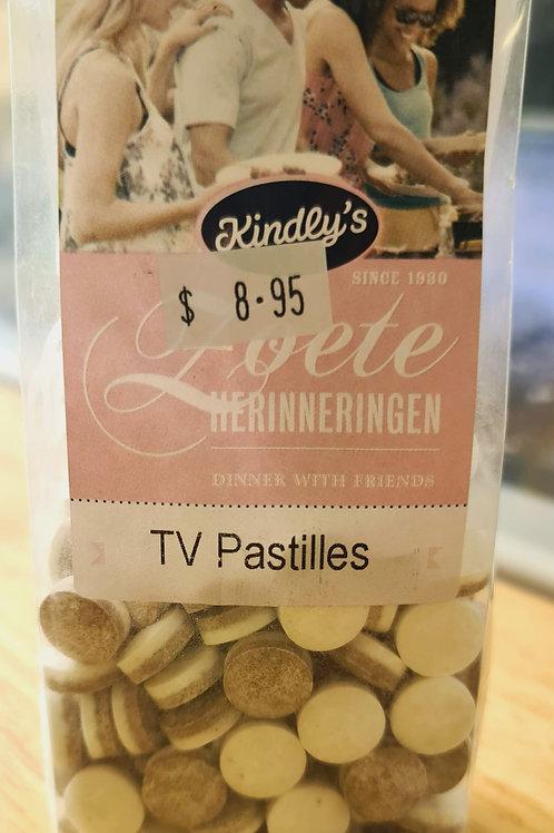 Kindly's - Licorice TV Salmiak Pastilles (TV Pastilles) 170g