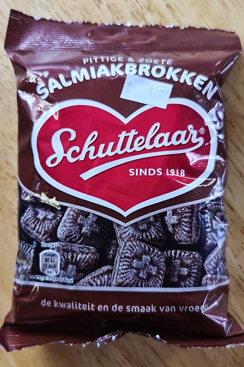 Schuttelaar Salmiak Brokken / Salmiak Slabs 200g