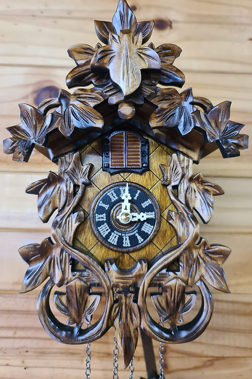 Traditional Carved Cuckoo Clock
