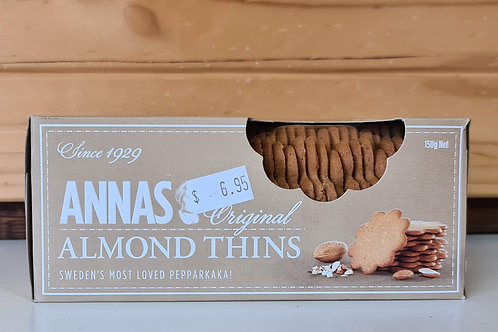 Annas - Almond Thins 150g