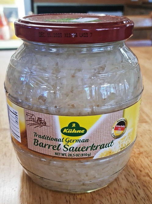 Kuhne - Sauerkraut Barrel (Zuurkool) 850ml