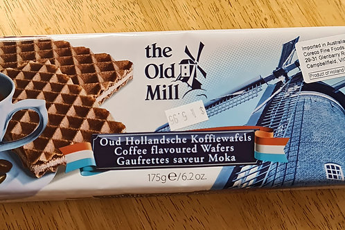 The Old Mill - Coffee Flavoured Wafers 175g