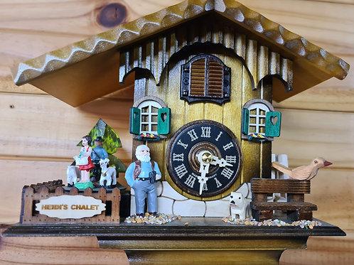 Heidi's Chalet Quartz Musical Cuckoo Clock