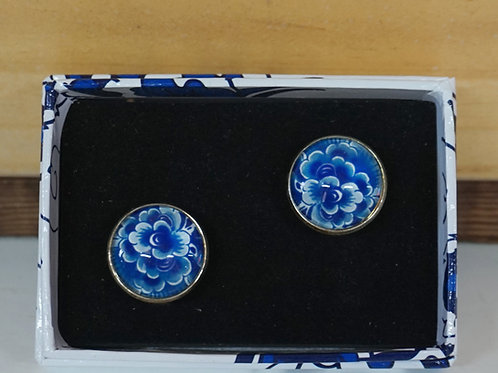 Delft Blauw Cufflinks