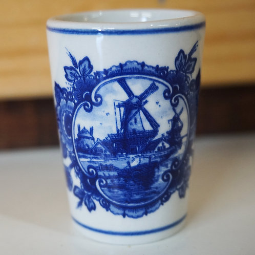 Shot Glass with Windmill