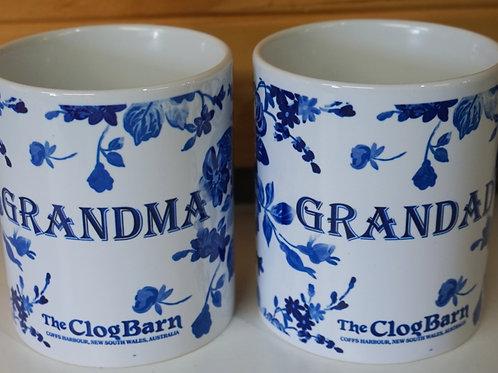 Grandma & Grandad Mugs