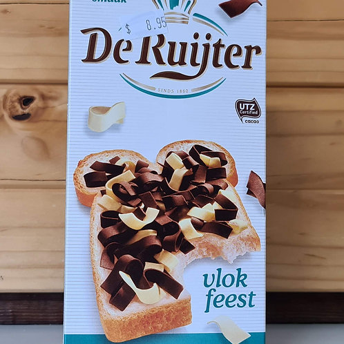 De Ruijter - Chocolate & Vanilla Flakes (Vlokfeest) 300g