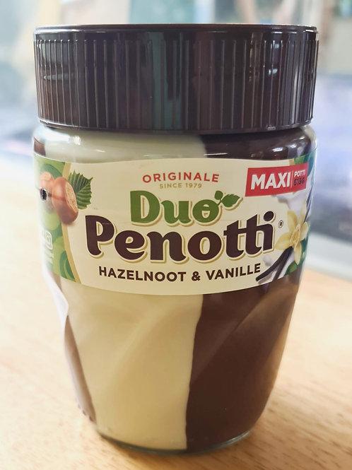 Penotti - Duo Hazelnut and Vanilla Spread 615g