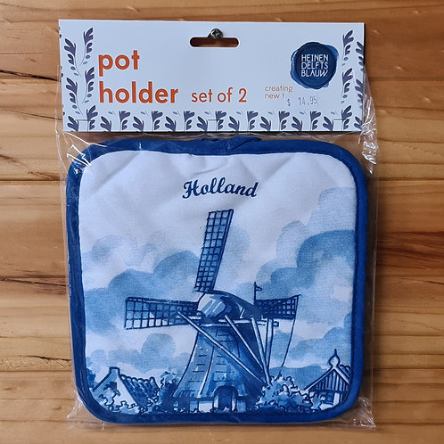 Pot Holders with Windmill
