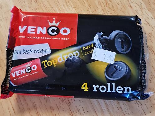 Venco - Licorice Salt Roll (Top Drop) 4 Pack
