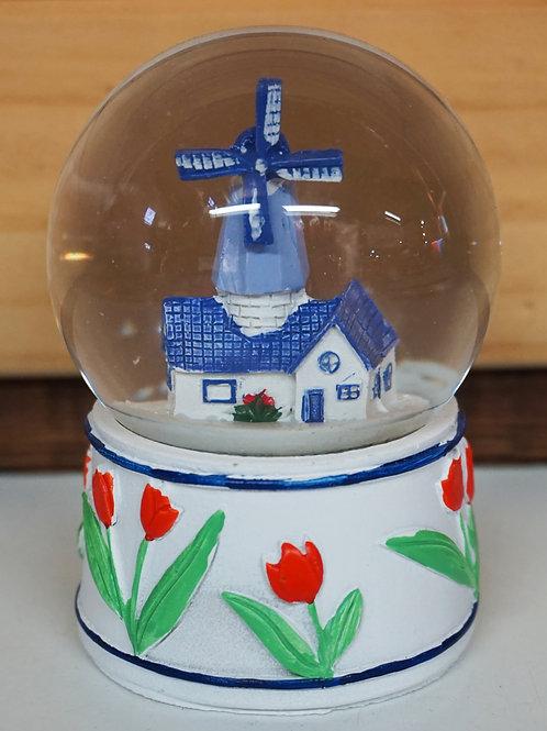 Snowglobe with Windmill