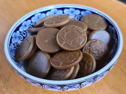 K&H - Salmiak Coins Salt (Salmiak Poen)
