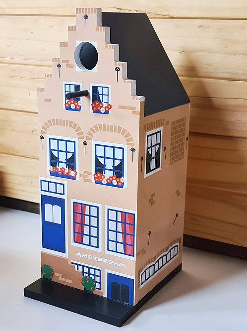 Wooden Bird House - Canal House