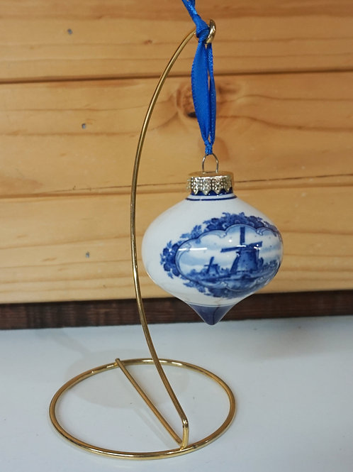 Christmas Bauble - Onion Shape