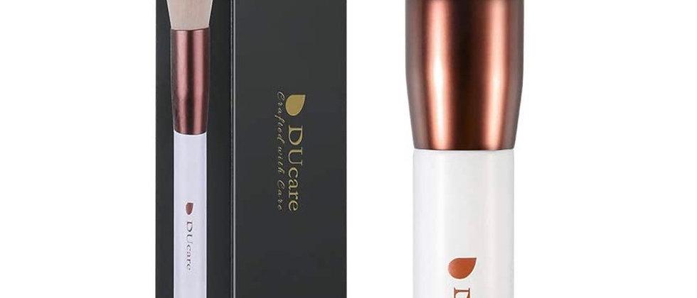 Foundation Brush Kabuki for Liquid, DUcare Flat Top Makeup Brush for Blending Li