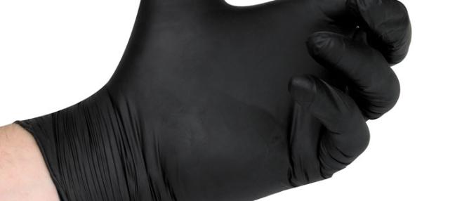 Non-Sterile Nitrile Black Powder-Free Gloves