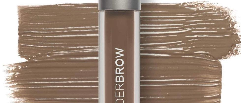 Wunder2 WUNDERBROW Long Lasting Eyebrow Gel for Waterproof Eyebrow Makeup, Brune