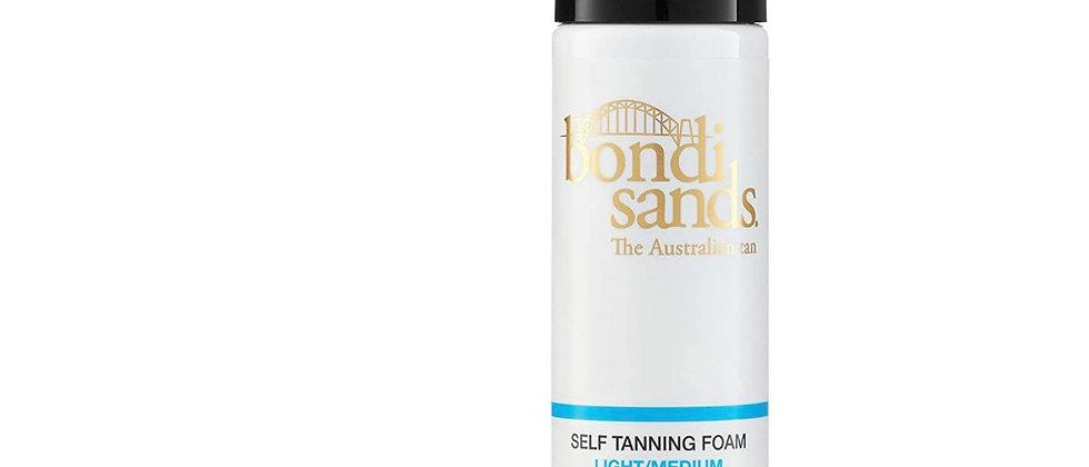 Bondi Sands Light/Medium Self-Tanning Foam   Lightweight, Buildable Formula Give