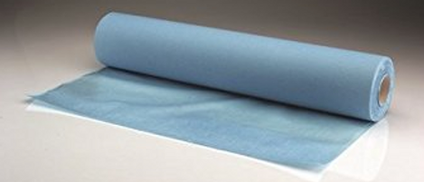 2 Ply Blue Couch Roll 40cm
