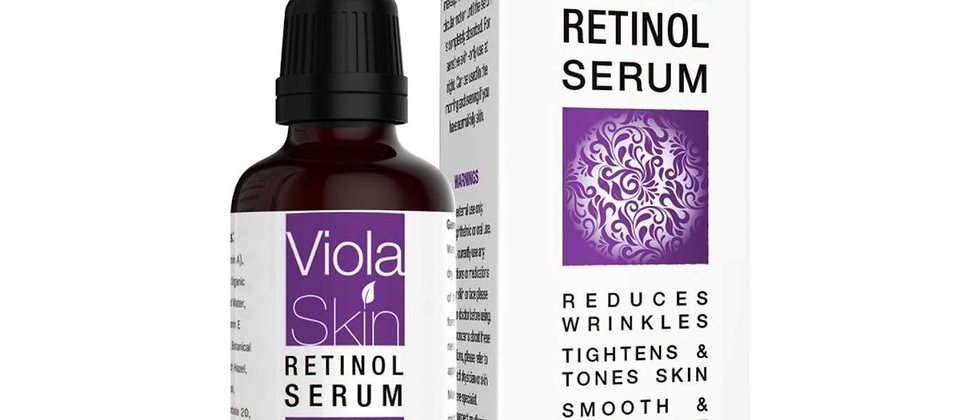 PREMIUM Retinol Serum For Face/Neck/Eyes with Hyaluronic Acid. 8X More Effective