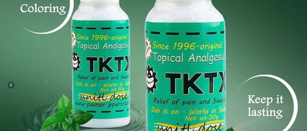 Original TKTX Tattoo Care Cream for Operation Piercing Semi Permanent Makeup Eye