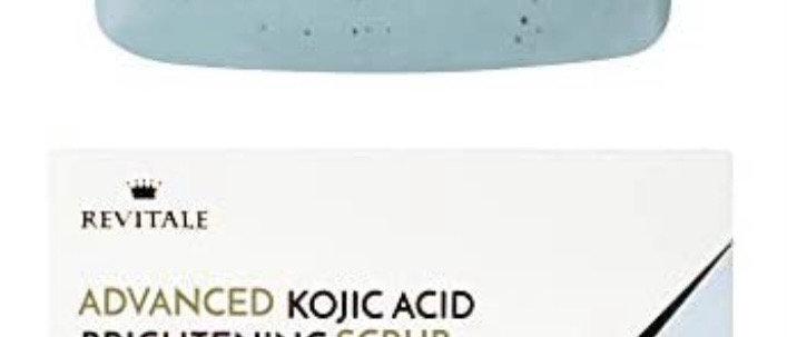 "Revitale Advanced Kojic Acid Brightening Scrub Treatment  for ""sk"