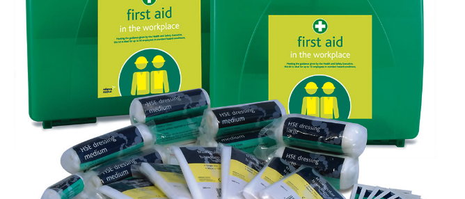 Aura - HSE First Aid Kits of BS8599-1 Compliant First Aid Kits
